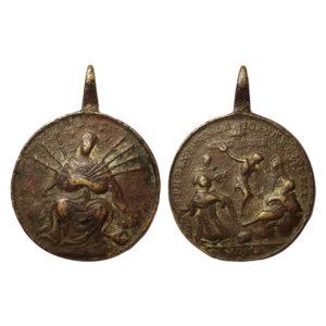 Medaglia Madonna Dei Sette Dolori
