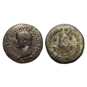 Moneta Di Tiberio