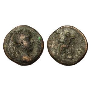Sesterzio Di Marco Aurelio