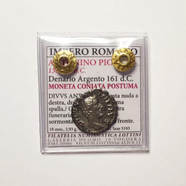 Denario Divo Antonino Pio