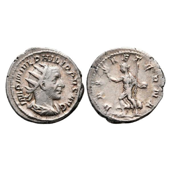 Moneta Romana Di Filippo I