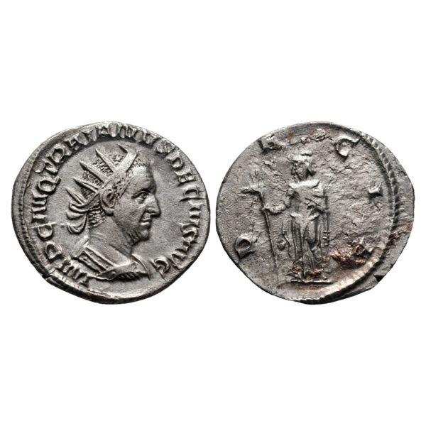 Moneta Di Traiano Decio